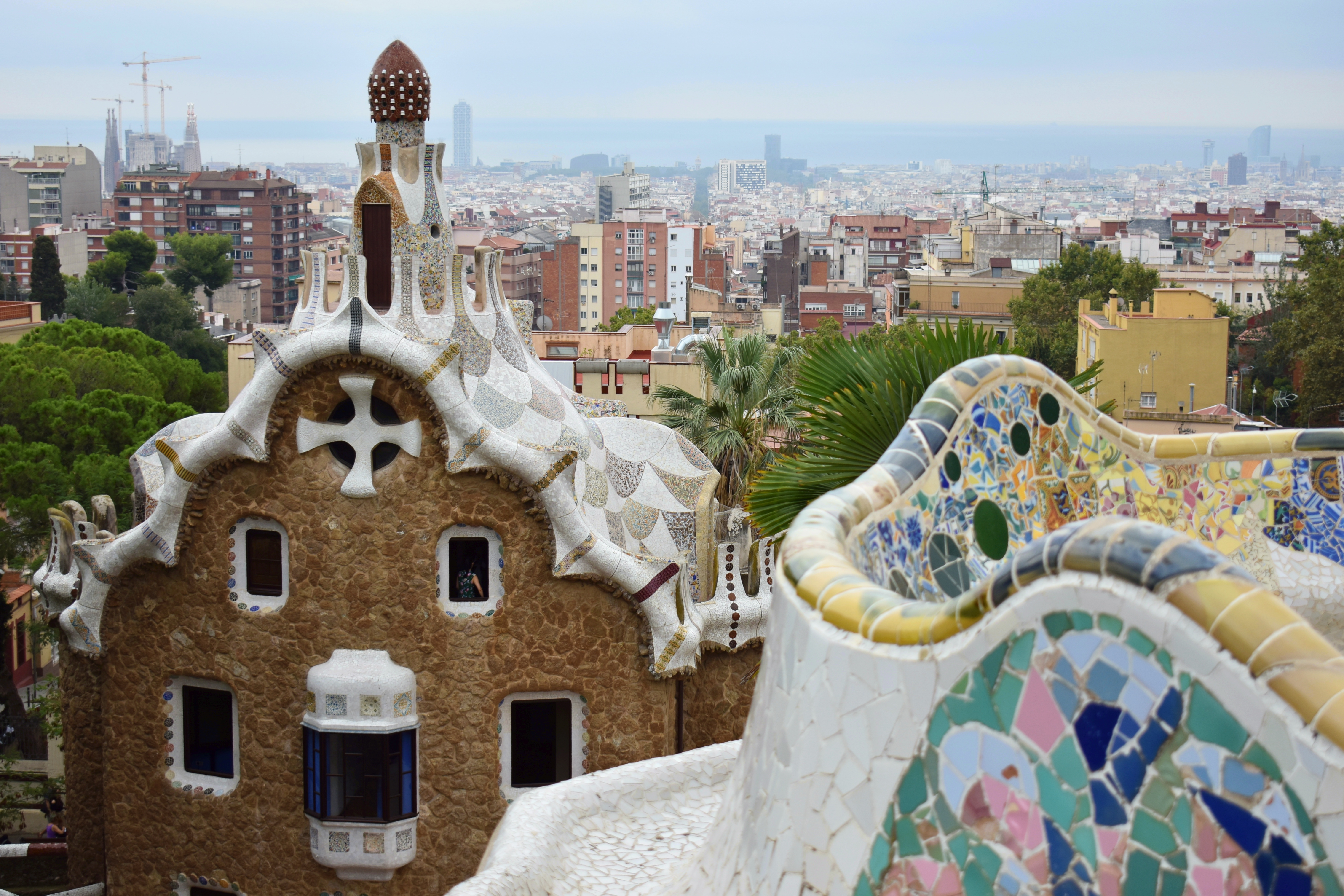Works Of Antoni Gaudi 4 7 Park Guell Dong S Journey